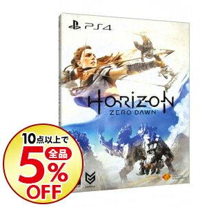 【中古】PS4 【アートブック・BOX付】Horizon Zero Dawn 初回限定版 [プロダクトコード使用・付属保証なし]