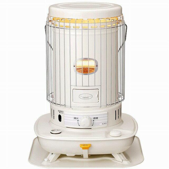 【月末セール】コロナ 石油ストーブ 対流型 (木造17畳まで/コンクリート23畳まで) 耐震自動消化装置付き ホワイト SL-6619(W)