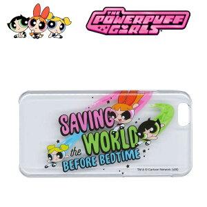 The Powerpuff Girls パワーパフガールズケース せーヴィング (PPG-9168) 日本製 アイフォンケース クリアケース 透明ケース iPhone6/iPhone6sケース スマホケース キャラクターグッズ かわいい おしゃれ【ネコポス対応】
