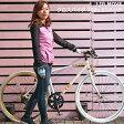 LIG MOVE 自転車 クロスバイク 700c 27インチ 軽量 アルミフレーム シマノ7段変速 通学 通勤 おしゃれ 人気 男性 女性 02P03Dec16