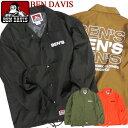 BEN DAVIS コーチジャケット メンズ ジャケット ベンデイビス ウインドブレーカー BENS ロゴプリント ゴリラアイコン ベンデービス ナイロンジャケット 2019AW ライトアウター アメカジ ストリート カジュアル BEN-1432