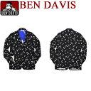 ben davis ジャケット ベンデイビス カモメ柄 ジャケット ベンデービスの3つボタンジャケットが登場。可愛いカモメ柄がプリントされた..
