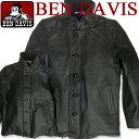 BEN DAVIS ベンデイビス レザー N-1ジャケット★ 内ボアとコーデュロイ素材と馬革の異素材を組み合わせたお洒落なデザインのN-1ジャケット。袖口が2重...
