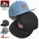 BEN DAVIS キャップ ゴリラタグ スナップバックキャップ メンズ レディース ベンデイビス 帽子 BENDAVIS BASIC CAP アジャスター付き ベンデビ 小物 ゴリラアイコン ベンデービス カジュアル ファッション小物 BEN-1224