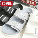 EDWIN サンダル メンズ エドウィン フットベッドサンダ...