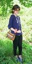 【G】☆〜風合いあるスラブ糸の天竺編み〜★カラフル配色ボタン5分袖パーカーカーディガン(紺ネイビー)(春初夏秋)【レディース】【7分袖..
