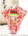 七五三レンタル 「大島優子」コレクション 白地に祝花歓びの舞