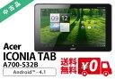 【中古】【送料無料・3ヶ月保証・中古タブレットPC】 Acer ICONIA TAB A700-S32B/Android 4.1.1 (64bit)/NVIDIA Tegra 3/HDD32GB SSD 同梱品(電源ケーブル・USB/microUSBケーブル付)