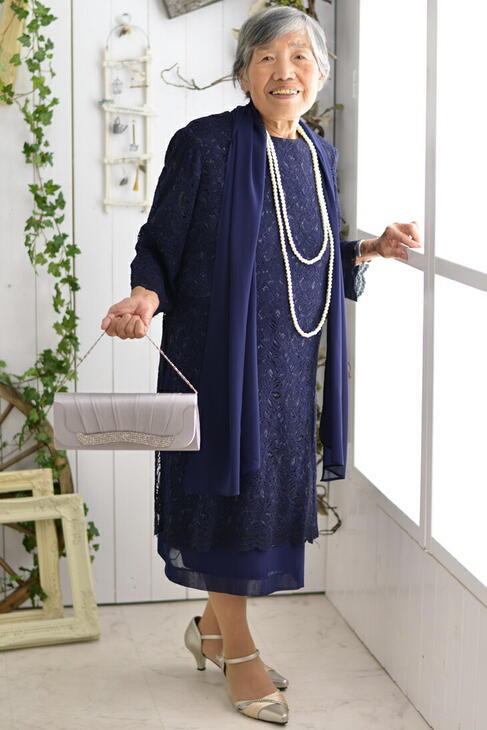 【レンタルドレス9~19号】祖母【フォーマルドレス結婚式】【
