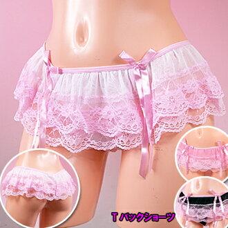 """""""Full of lovely sexy ☆ miniskirt style T back short-shorts"""""""