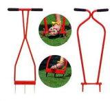 《【】キンボシ ローンスパイクとローンパンチの芝生お手入れ2点セット   10P26Apr14
