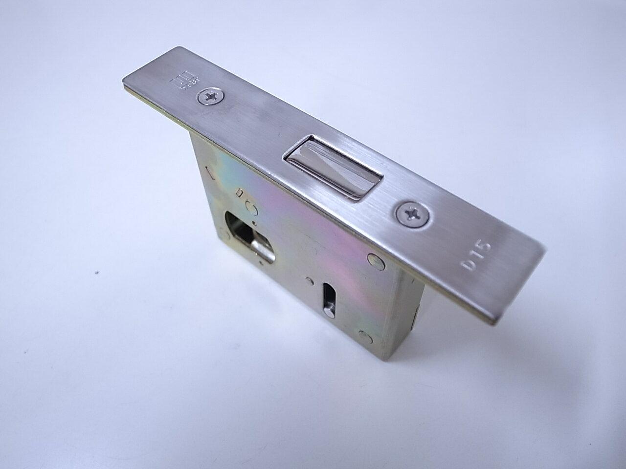 WEST D-15用錠ケースバックセット50ミリ 玄関 ドア 扉 修理 補修 交換 部品 パーツ