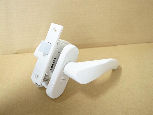 TOTO 樹脂製浴室用レバーハンドル錠EKH320PW8玄関 ドア 扉 修理 補修 交換 部品 パーツ
