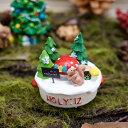 友膳(you-zen) スクイールサンタパン【クリスマス オーナメント 置物 飾り 小物 オブジェ リス 動物 アニマル】【EKC887】【あす楽】【05P03Dec16】