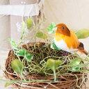 バードネスト L (鳥の巣) ナチュラル 1個【オーナメント インテリア雑貨 小鳥 飾り】【A-15230】※鳥は付属していません【05P03Dec16】