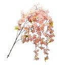 【花材】 しだれ桜 大輪 全長160cm 【人工植物 / 造花 / フェイクフラワー】【アレンジメント資材】【ディスプレイ / 飾り】
