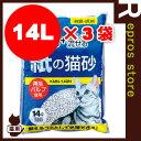 ◆紙の猫砂 KMN-140N 14L 3袋セット アイリスオーヤマ ▼g ペット グッズ 猫 キャット トイレ 砂
