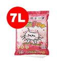 ○トフカスPee 7L ピーチの香り ペグテック▼a ペット グッズ キャット トイレ 猫砂