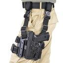 ブラックホーク レッグホルスター セルパ LV3 グロック17 [ 左利き ] 430600BK-R Glock 22 31 | シェルパ サイホルスター 太もも 太腿 Blackhawk BHI
