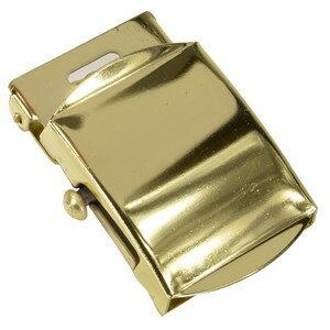 Rothco ベルトバックル 布ベルト用 [ ライトゴールド ] 交換用 ベルト用バックルのみ アメリカンバックル USAバックル BUCKLE メンズ 取替え用バックル