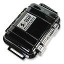 PELICAN マイクロケース 1010 [ ソリッドブラック ] CBK | 透明 携帯電話 デジカメケース 保護ケース ダイビング プラスチックボックス