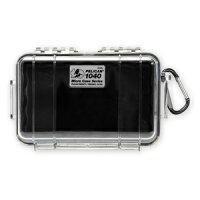 PELICAN マイクロケース 1040 [ クリア / ブラック ] CBK : 透明 防水ケース 携帯電話 デジカメケース 保護ケース ダイビング プラスチックボックスの画像