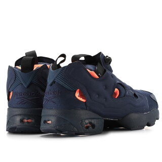 【メンズ】ReebokINSTAPUMPFURYTECHV63499リーボックインスタポンプフューリーテックスニーカーネイビーオレンジ靴スニーカー