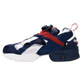 """【メンズ/レディース】REEBOK INSTA PUMP FURY OB """"OVER BRANDED PACK"""" AR3197 リーボック インスタポンプフューリー OB オーバーブランデッドパック スニーカー 靴 ネイビー× レッド × ホワイト"""