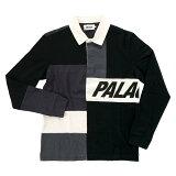 【メンズ】PALACE SKATEBOARDS PATCHWORK RUGBY パレススケートボード パッチワーク ラグビー ポロシャツ ラガーシャツ