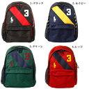 【全4色】ポロ・ラルフローレン ビッグポニー バックパック ストライプ ブラック ネイビー グリーン レッド POLO by Ralph Lauren Banner Stripe Backpack