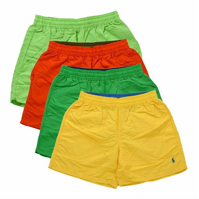 POLO by Ralph Lauren Big Pony Swim shorts Polo Ralph Lauren big pony swim shorts swimwear yellow green Orange lime