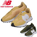 【2色展開】New Balance ニューバランス スニーカー MS327CPF / MS327CPE イエロー / カーキ シューズ 靴