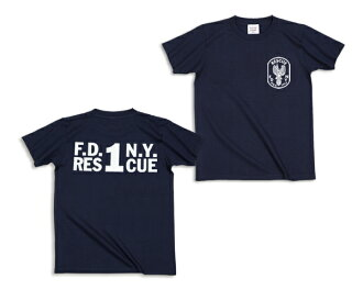 FDNY rescue 1 T shirt [ladies '] (62-050) :RESCUE SQUAD [rescue squad.