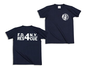 FDNY rescue 4 T shirt [ladies '] (62-053) :RESCUE SQUAD [rescue squad] fs3gm