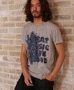 【CAMBIO(カンビオ)】BEAT MUSIC クルーネックTシャツ