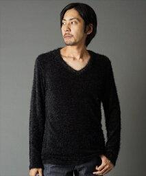 【SHELLAC(シェラック)】1366902007- ロングシャギー L/S