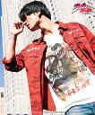 【glamb(グラム)】【予約販売4月中旬〜下旬入荷】GB17SM-JJ01-Josuke Higashikata 東方仗助 Tシャツ