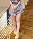 【dazzlin(ダズリン)】021730700201-刺繍スカラップキュロット