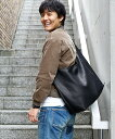 【MROLIVE(ミスターオリーブ)】【予約販売11月上旬〜中旬入荷予定】ME673-WATER PROOF WASHABLE LEATHER -LARGE SIZE ECO TOTE BAG バッグ