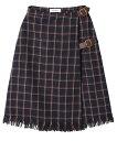 【dazzlin(ダズリン)】021750801201-レトロチェックミディラップスカート