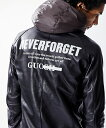 【attack the mind 7】【予約販売10月入荷予定】SPORTS LEATHER PARKANEVER FORGET GRAFFITI パーカー (ATMJ058-LE02)