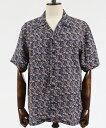 男性流行服飾 - 【Nudie Jeans(ヌーディージーンズ)】ARVID HAWAII LOGO BOY シャツ(140597)