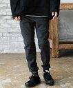 【CAMBIO(カンビオ)】Aquaguard Zip Knit Like Jersey Easy Pants パンツ