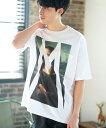 【CAMBIO(カンビオ)】【予約販売4月中旬〜下旬入荷】Print Big Tee - Monna Lisa Tシャツ(SHC-013)