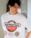 【CAMBIO(カンビオ)】【予約販売4月中旬〜下旬入荷】Print Big Tee - Manhattan Tシャツ(SHC-018)