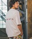 【CAMBIO(カンビオ)】Print Big Tee - Line Stars(横) Tシャツ(SHC-028)