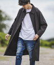 【CAMBIO(カンビオ)】Water Repellent Over Size Coat オーバコート(CAM20AW-020)