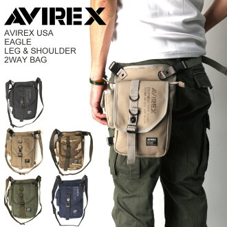 AVIREX (avirex/avirex) Eagle leg & shoulder 2-WAY shoulder P19May15