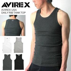 【送料無料】AVIREX(アビレックス)デイリーリブタンクトップ