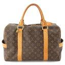 【ルイヴィトン】Louis Vuitton モノグラム キャリーオール ボストンバッグ M40074 【中古】【鑑定済・正規品保証】66105